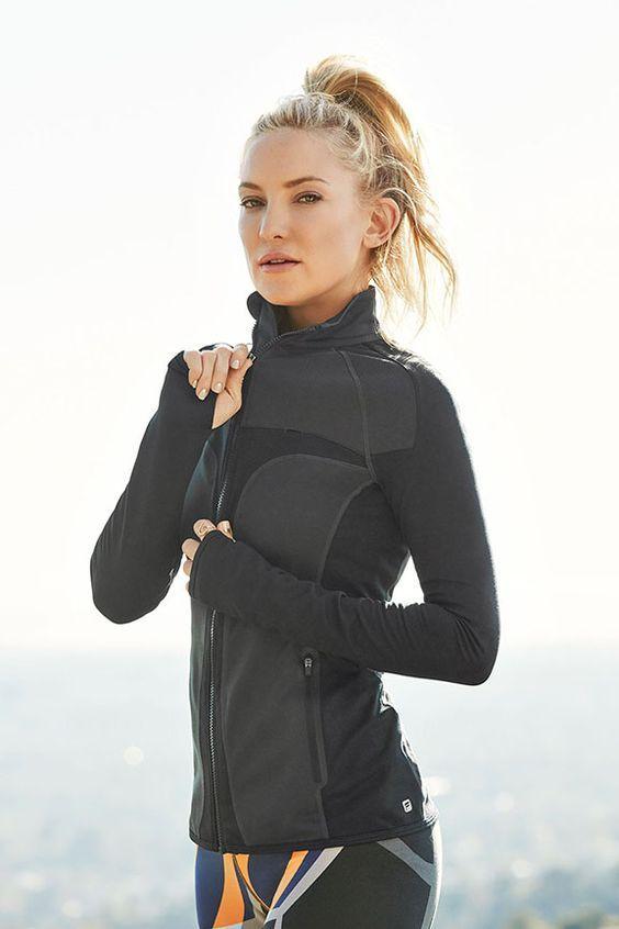JoJo Performance Jacket by Fabletics. Kate Hudson's fitness fashion line.