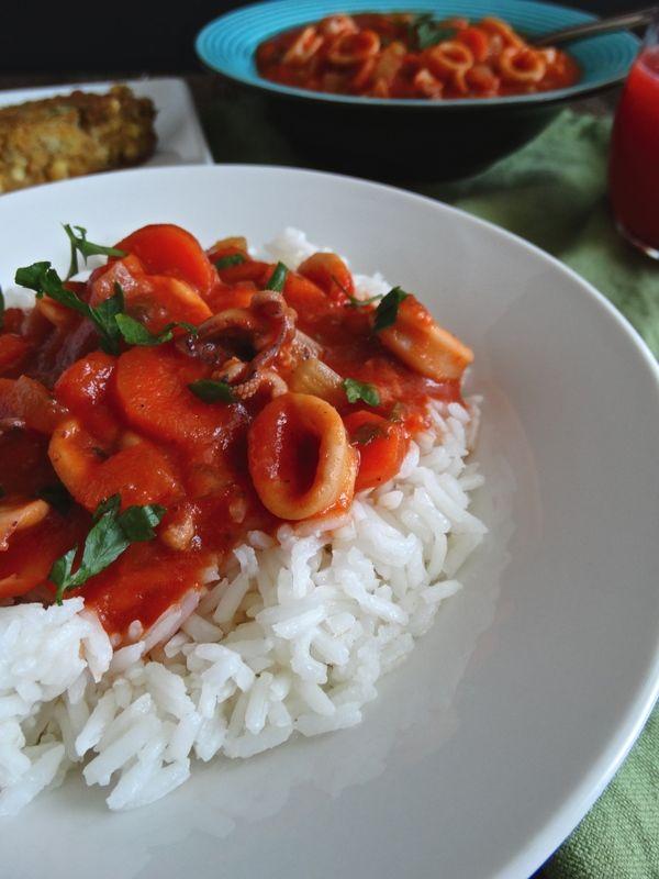Calamari Stew | Living Linda