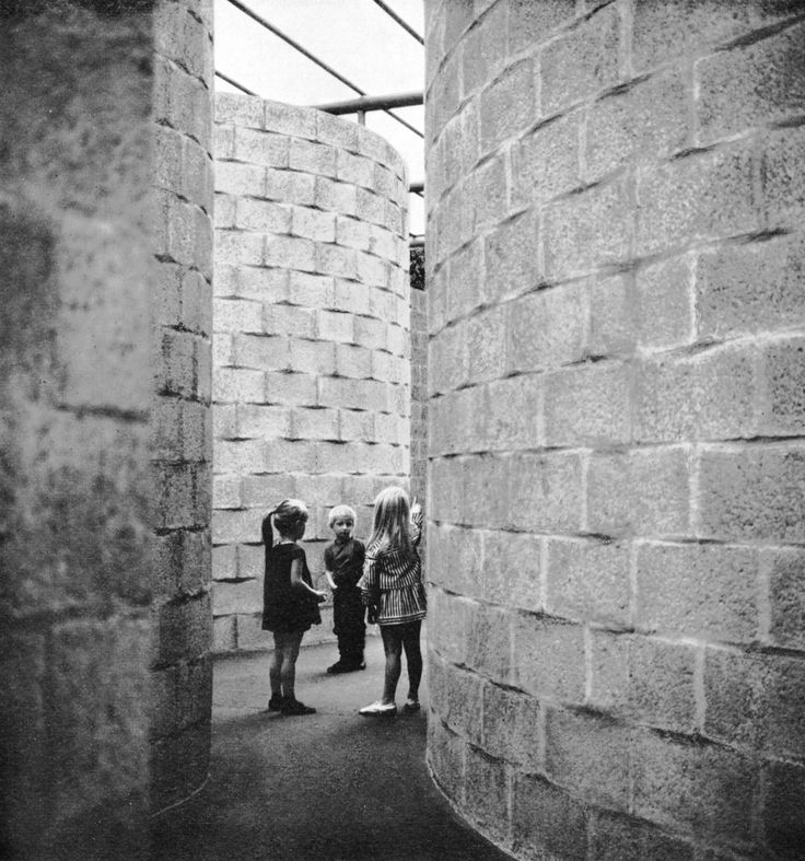 Sculpture Pavilion, Arnhem, Netherlands, 1965-66  Aldo Van Eyck