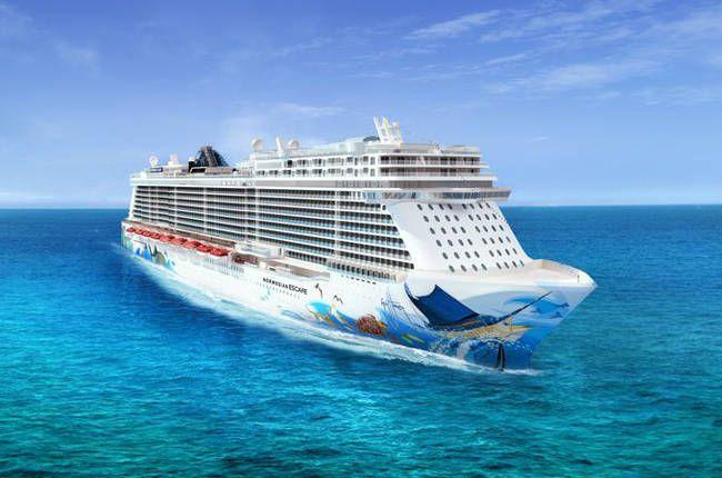 L'Escape de la compagnie Norwegian Cruise line. #croisière #croisierenet.com #voyage #bateau #NorwegianCruiseLine