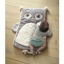 Levtex Baby Night Owl Playmat  Gray