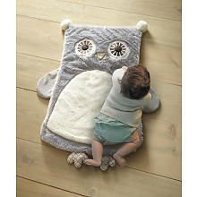 Levtex Baby Night Owl Playmat - Gray