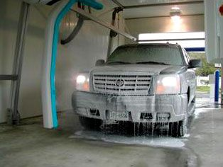the benefits of a professional car wash