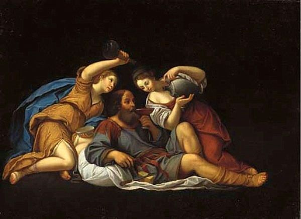 The Athenaeum - Lot and his Daughters (Francesco Albani - )