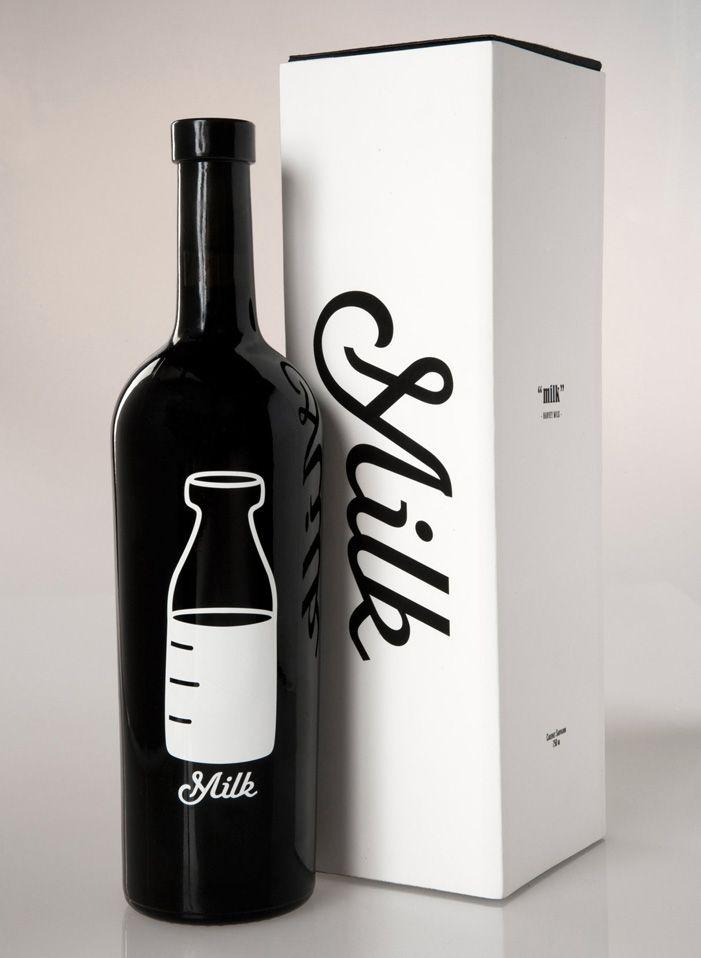 Milk #milk #bottle #packaging