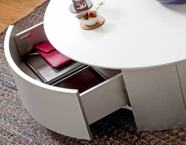 Ingenious Storage Solutions Only From Gautier In Photo ALLURE Coffee Table SHANGRI LA AT THE FORT 2nd Level Retail Podium 30th Street Corner 5th Ave