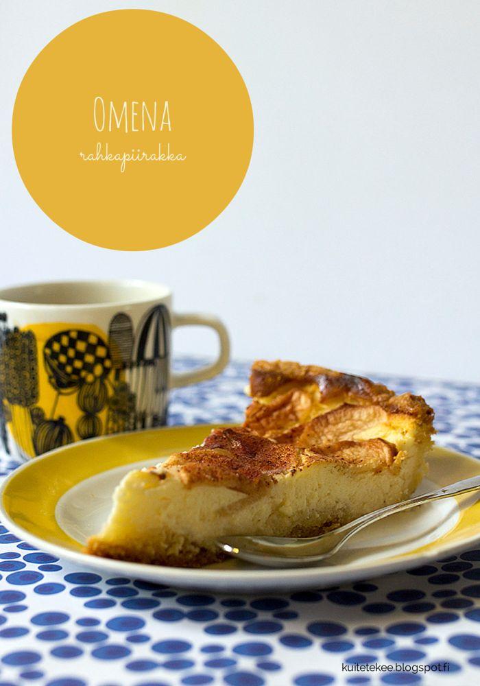 Omena -rahkapiirakka