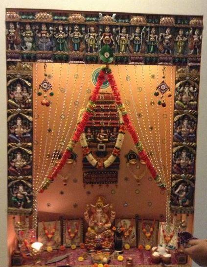 Pooja Room Decoration 7 423×545 Pixels