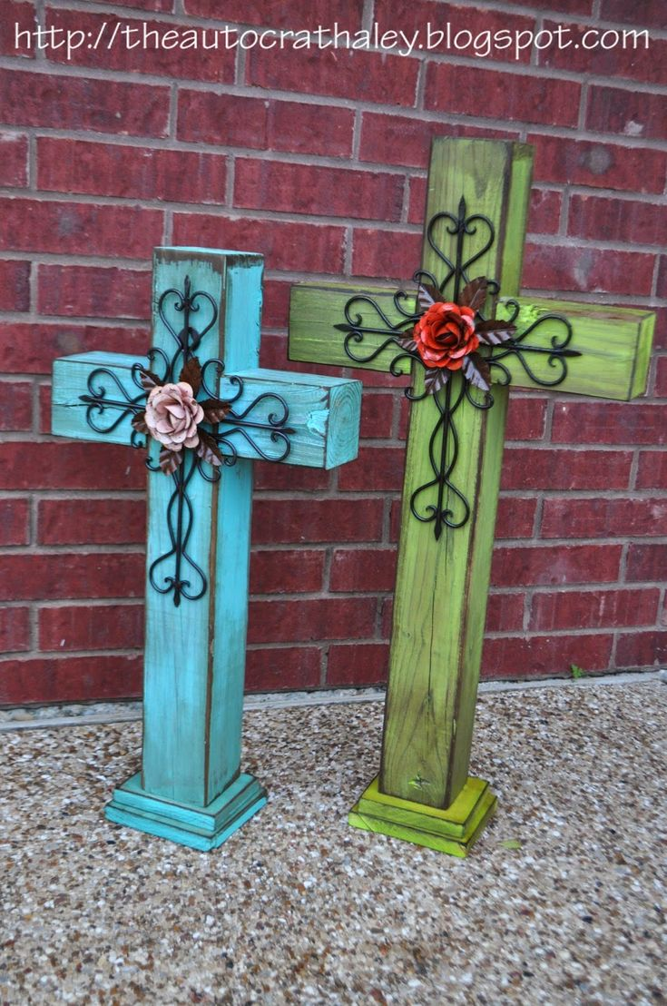 Cross template simple cross image craft ideas pinterest crosses - The Autocrat Dyi Rustic Crosses Wood Crossescrosses Decorrustic Crosscross Crafts4x4 Wood Craftspallet Crosswood Projectsmetal