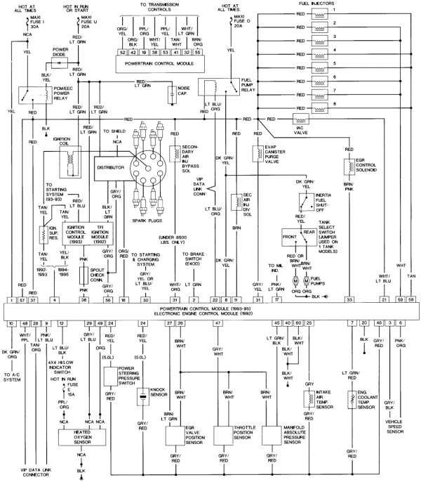 12 1995 ford f150 engine wiring diagram  engine diagram