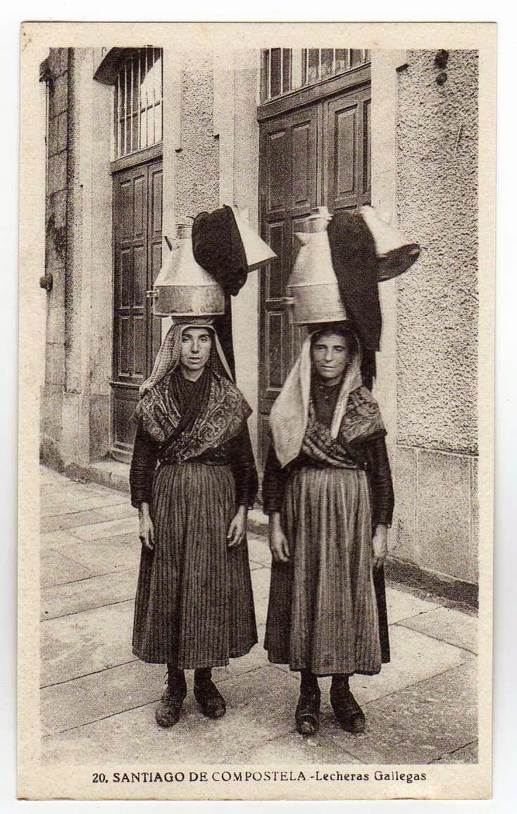 Lecheras en Santiago de Compostela