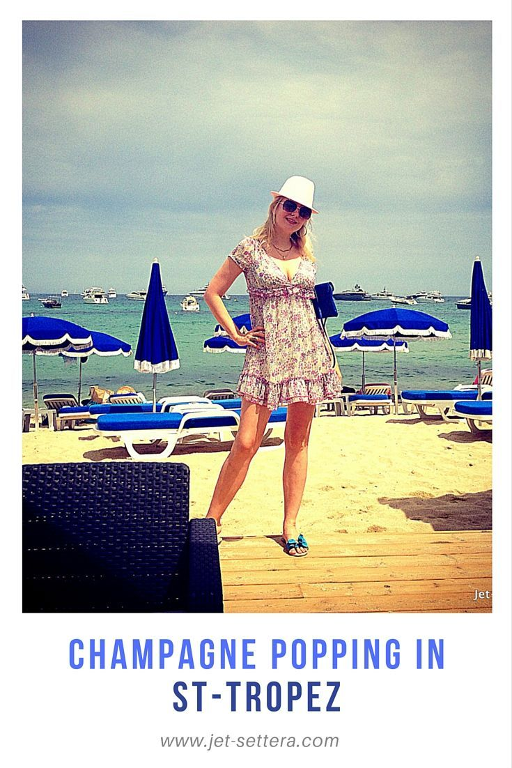 Read about the Summer in St Tropez, in the South of France with beautiful villa…
