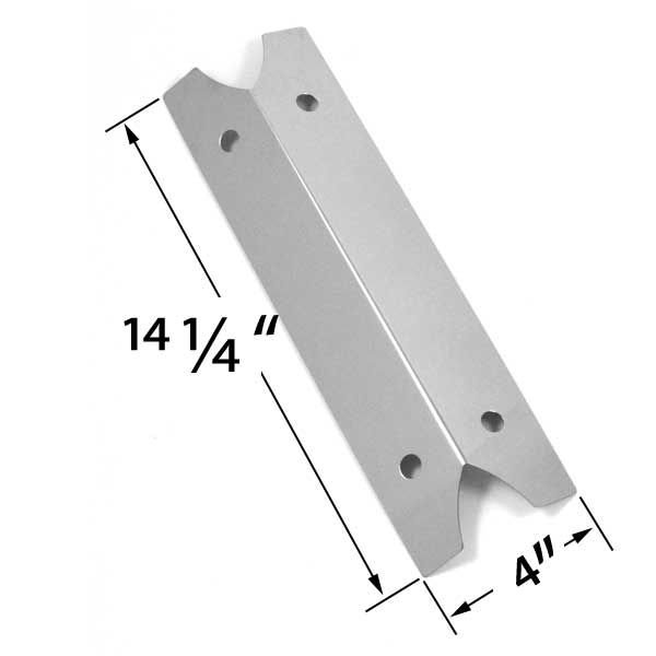 STAINLESS STEEL HEAT SHIELD FOR OUTDOOR GOURMET DLX2013, SRGG21101, BRINKMANN 810-9210-S, CHARMGLOW GAS GRILL MODELS Fits Compatible Outdoor Gourmet Models : GR2002401-SC-00, DLX2012, DLX2013, SRGG21101 Read More @http://www.grillpartszone.com/shopexd.asp?id=33627&sid=37463