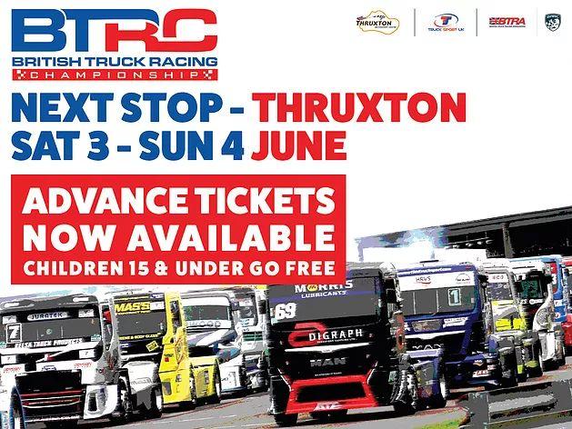 Thruxton 3rd/4th June | BTRC | British Truck Racing Championship | TRUCK SPORT UK