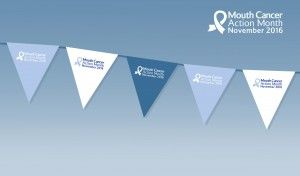 Mouth Cancer Action Month Campaign Bunting Template
