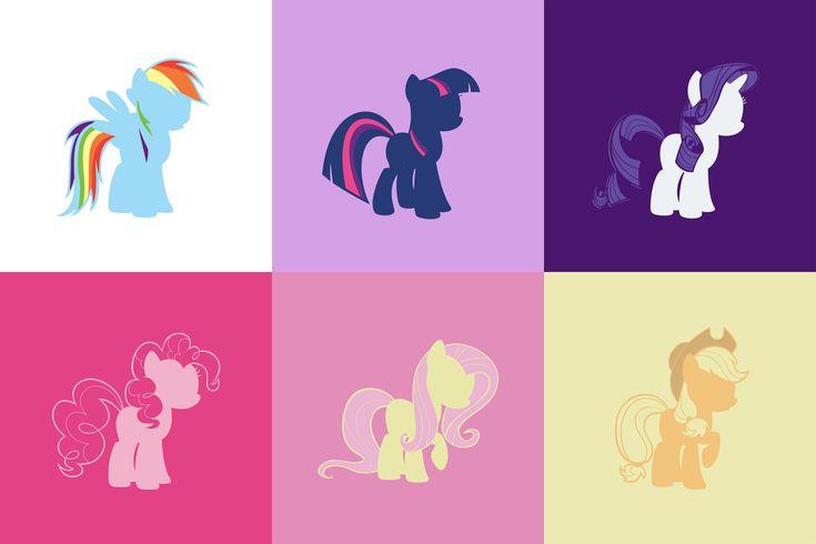 цветные картинки для принтера пони представляет собой