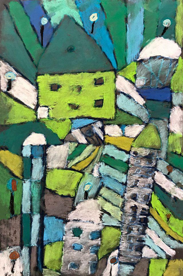 Paul Klee El Jardin de Rosas | Paul klee, Expressionismus ...