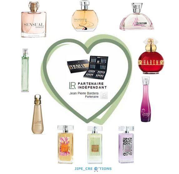 """La gamme de parfum """"Design dames"""" de LR Health & Beauty Systems uniquement à l'eau de parfum, que je peux vous faire tester sans engagement si vous habitez en Région parisienne: Sur mon site: - Les caractéristiques https://sites.google.com/site/eaudeparfumlr/home/parfum-femme/lr-design  Sur le catalogue Beauté de la page 36 à 41; http://fr.calameo.com/read/00000635392be082eff1a?authid=ZSae9HEgh4Mi   Intéressé (e): me contacter en MP http://jpbardera.lr-partner.com/"""