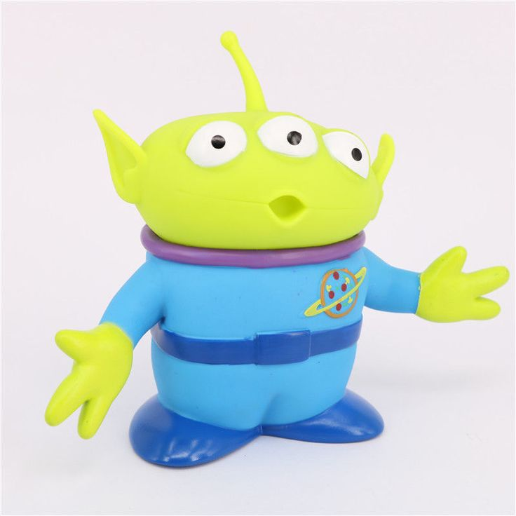 Toy Story Alien Figures 14cm PVC Alien Action Figure Doll Anime Brinquedos #Unbranded