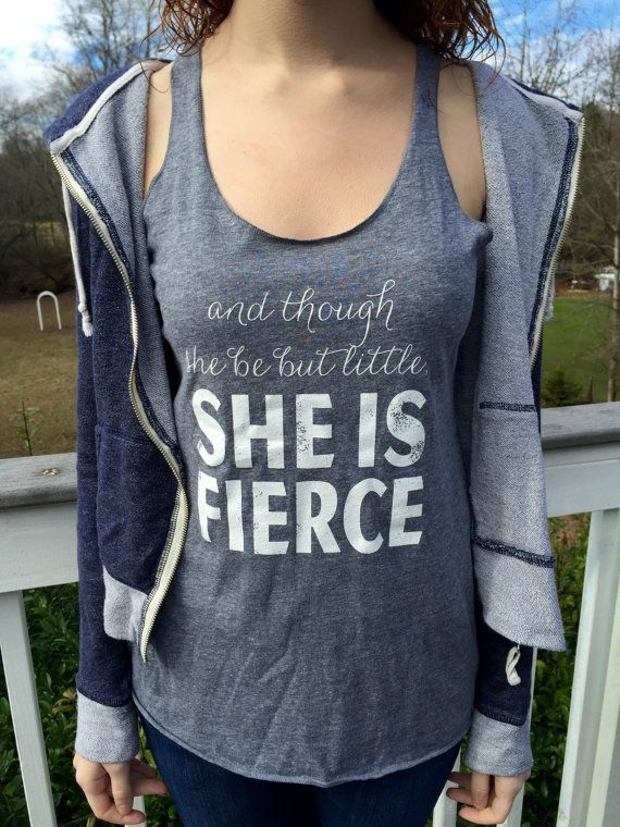 She Is Fierce Tank Top. Fitness Tank. Workout Shirt. Workout Tanks For Women. Workout Clothes. Cute Workout Clothing. Cute Workout Tank.    Welcome