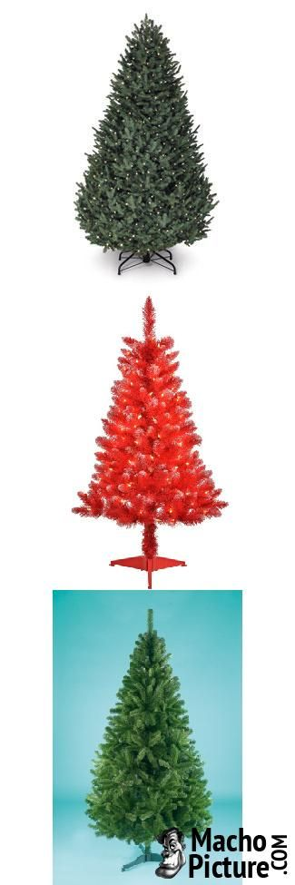 Cheap artificial christmas trees - 4 PHOTO!