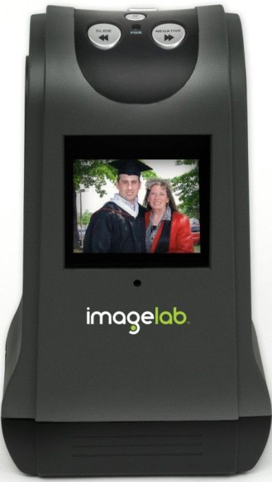 Negative Scanner. Insert your negatives or slides into the trays and the imagelab scanner transforms them directly into high quality 9 megapixel jpeg digital photographs without a computer! 90 dollars