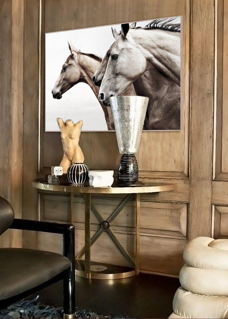 $309 Wild Horses Wooden Framed Wall Art