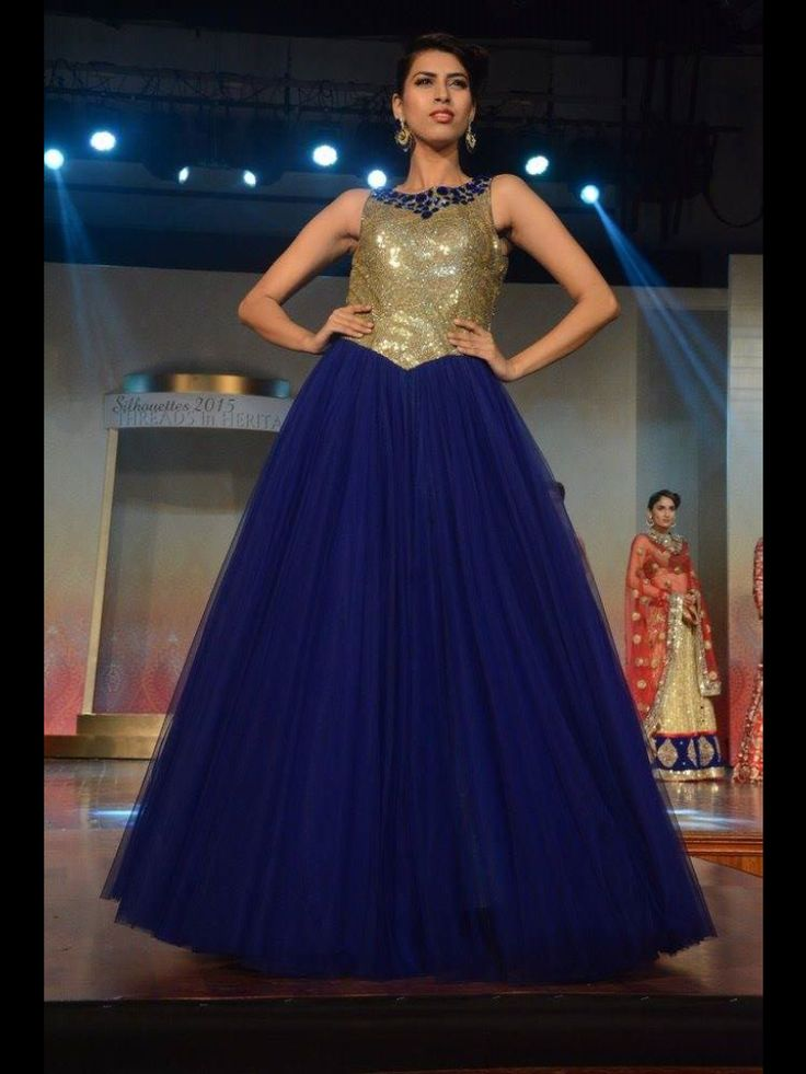 Party gown on net with sequence and stones only at manish reshamwla fashion studio,9879568040
