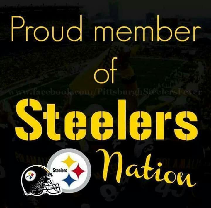 Loyal member of Steelers Nation! PS4L