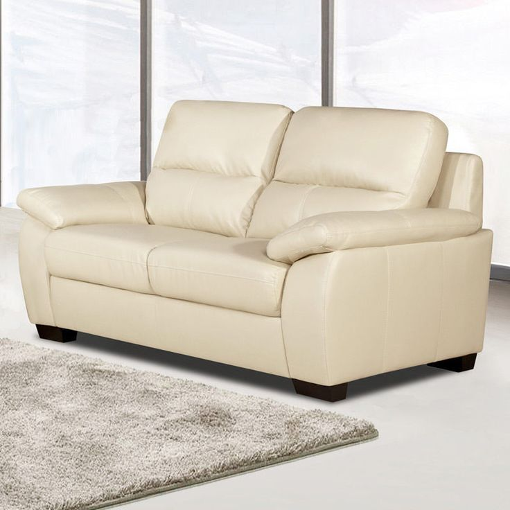 best 25 cream leather sofa ideas on pinterest cream. Black Bedroom Furniture Sets. Home Design Ideas