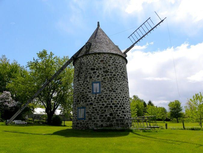 Moulin Dansereau construit vers 1822  ...  Verchères