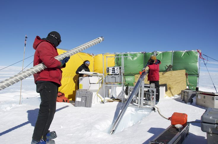 About Ice Cores :: Drilling Ice Cores