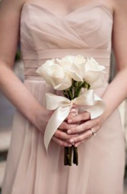 Simple Roses For Bridesmaids Flowers In 2018 Pinterest Wedding Bouquets And
