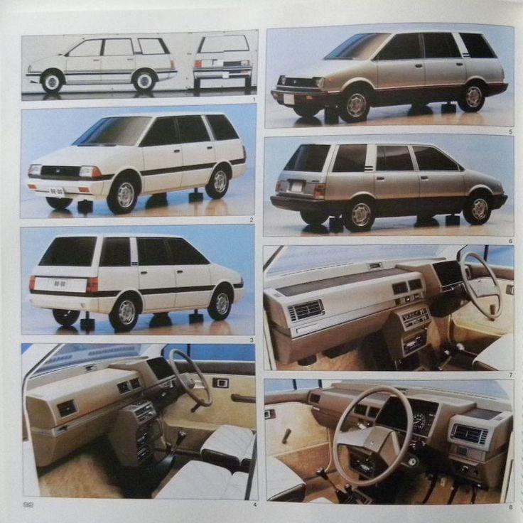 1983 Dodge-Plymouth Colt Vista / Eagle Vista | Design proposals