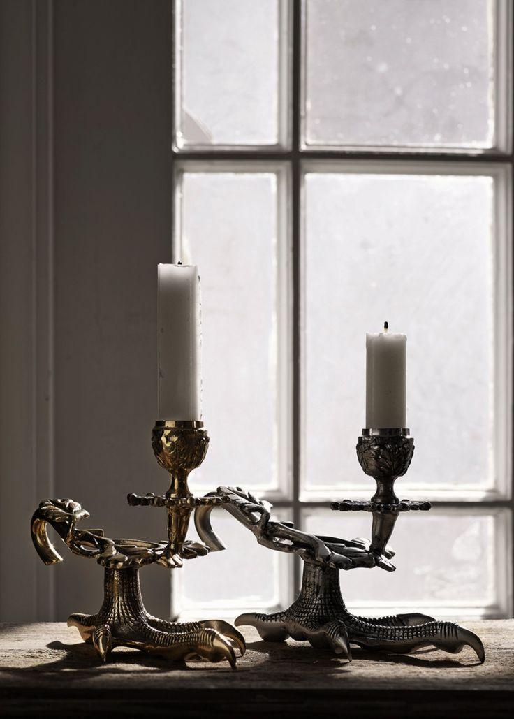 Photo: Martin Savara (www.martinsavara.se) Client: www.mariellastore.se Interior, spring, the claw candleholder, decoration