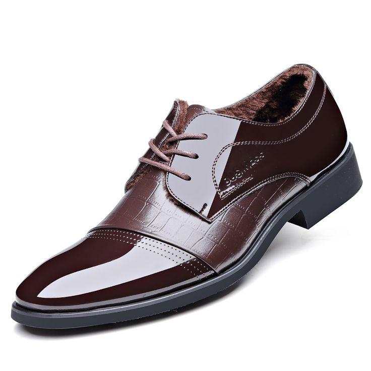 Новый 2016 мужская Мода Острым Носом Туфли Зимние Сапоги Кожа Мужчины Бизнес Ботильоны Резиновая Подошва Обувь #shoes, #jewelry, #women, #men, #hats