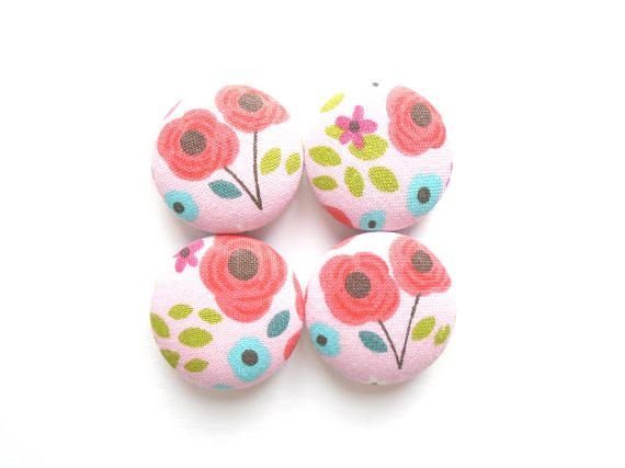 Pink Magnets Red Magnets Flower Magnets Floral Magnets