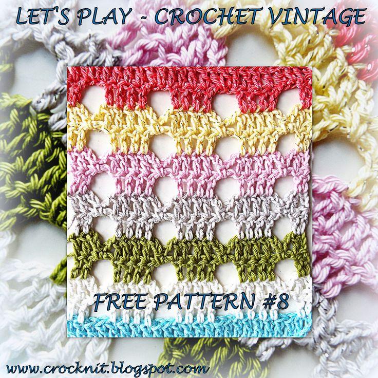 Mejores 68 imágenes de crochet-stitches en Pinterest | Puntadas de ...