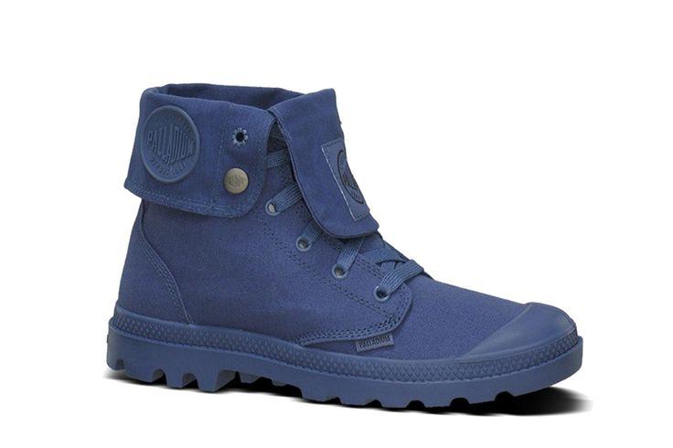 Top Palladium Mono Chrome Baggy (Blauw) Sneakers van het merk Palladium voor Dames. Uitgevoerd in Blauw gemaakt van Canvas. Nu verkrijgbaar voor 67.50 bij Sneakershop.