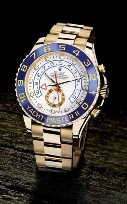 Rolex Yachtmaster II- The watch I will have when I begin my naval architecture career (Retirement from the US Navy Watch). - Jae