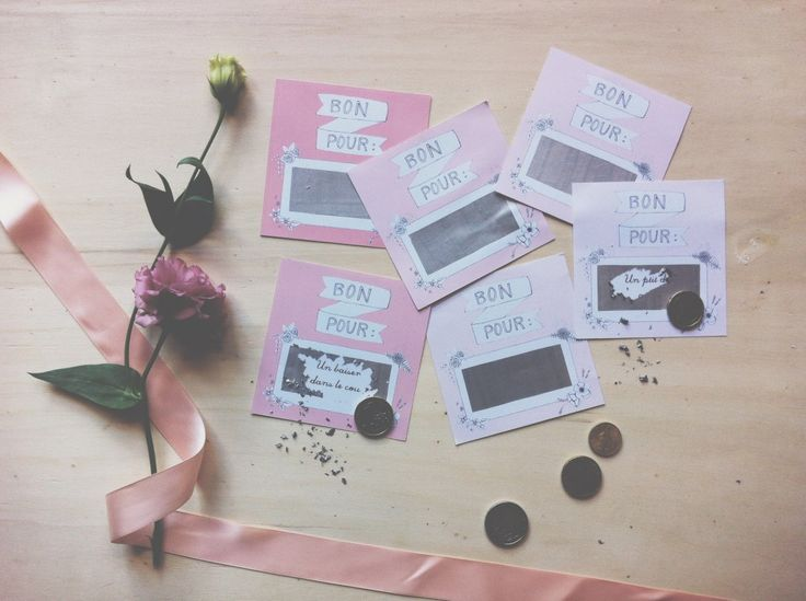Comment faire des tickets ? Asaline Illustrations_ DIY Tickets à gratter_BOn pour_Saint Valentin 9