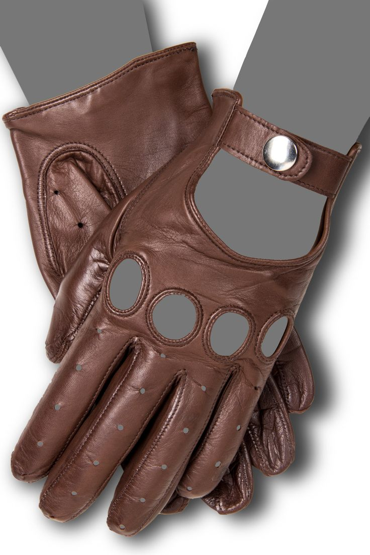 Tiger leather driving gloves - 2204 Driving Gloves