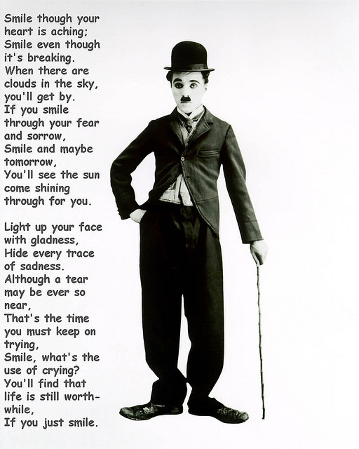 Smile - Charlie Chaplin - i just keep coming back to this song. I feel as if we're already old friends, me and it.