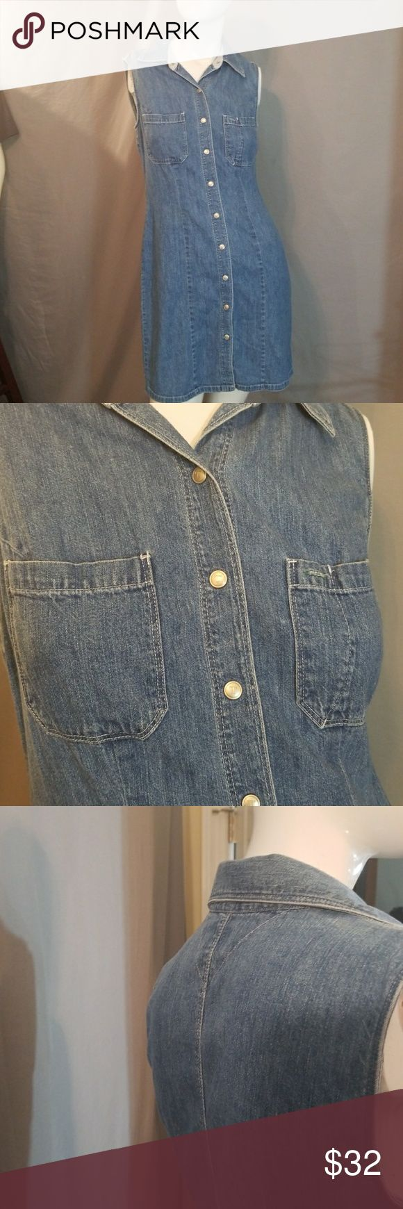 💚50% OFF💚VINTAGE TOMMY HILFIGER DENIM 💚50% OFF BUNDLES of 2+ THIS WEEKEND ONLY!💚Original TOMMY In Denim. Classy and comfy.    Why SHOP MY Closet? 💋Most NWT or Worn Once 💋Smoke/ Pet Free 💋OVER 450 🌟🌟🌟🌟🌟RATINGS & RISING! 💋TOP 10% Seller  💋TOP RATED 💋 FAST SHIPPER   💋BUNDLE DISCOUNT OF 20% 💋VIP REWARDS w/ EACH PURCHASE  💋QUESTIONS?? PLEASE ASK! ❤HAPPY POSHING!!! 💕 Tommy Hilfiger Dresses