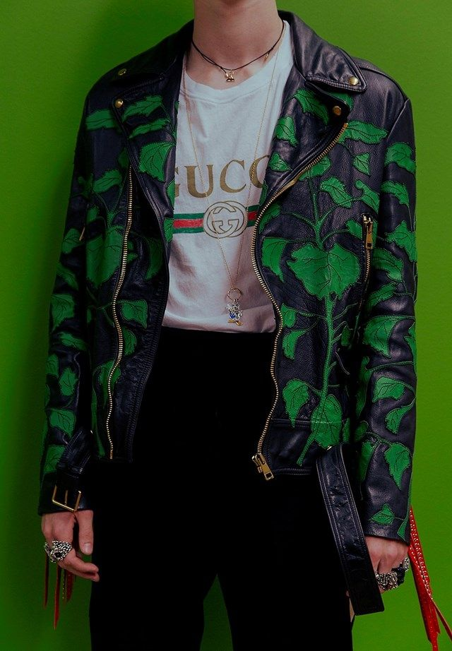 Gucci's fake tees steal the show