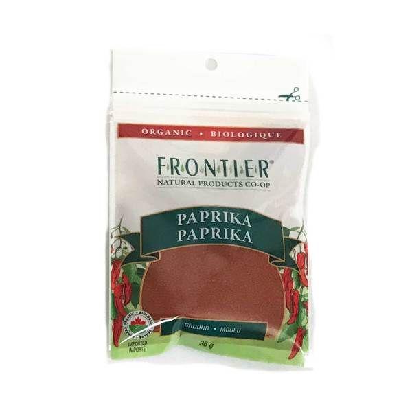 Frontier Organic Ground Paprika - 36g