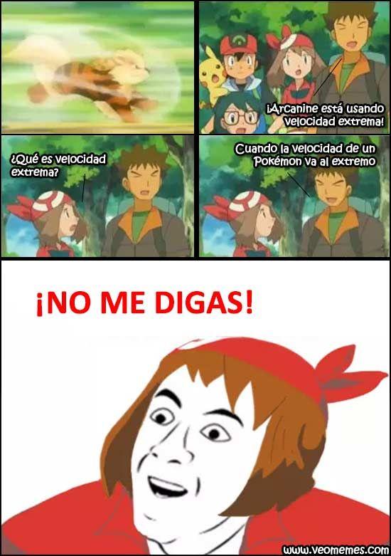Memes de humor: Velocidad extrema Pokémon →  #memesdivertidos #memesenespañol…