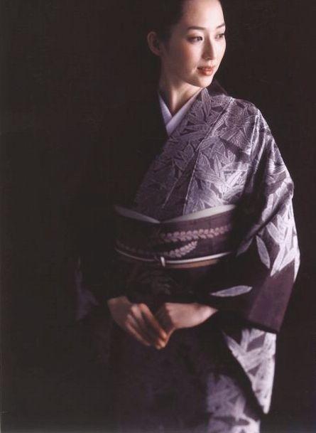 kimono 着物 / 笹柄 / 源氏屋(永治屋 清左衛門)