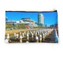 Docklands and Etihad Stadium - Melbourne, Victoria Studio Pouch