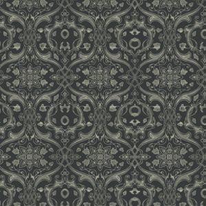 Dimitri Vine in Royalty -- Manufacturer: Westminster / Free Spirit -- Designer: Parson Gray -- Collection: Curious Nature -- Print Name: Dimitri Vine in Royalty